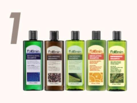 Follimin髮利明 洗髮系列